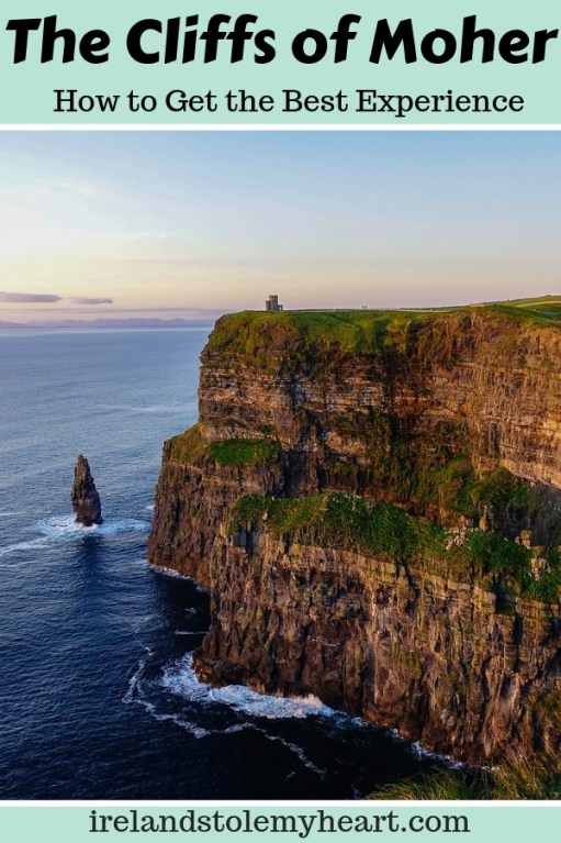 Want to visit the Cliffs of Moher in Ireland? Here are my top tips to make the most out of your experience. #Ireland #CliffsofMoher