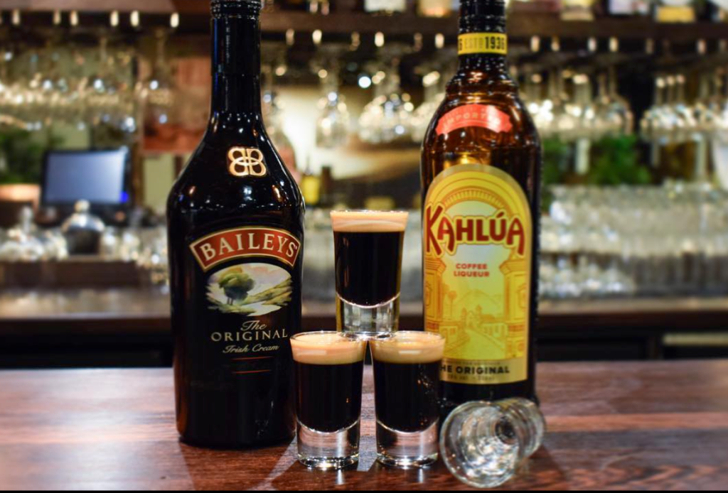 Baby Guinness Shots
