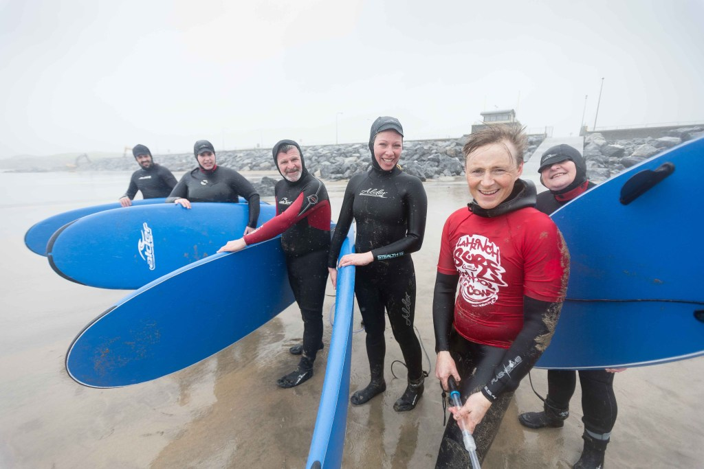 Surfing in Doolin