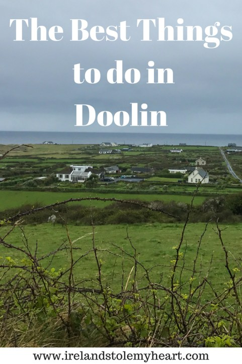 The best things to do in Doolin Ireland. Doolin is known as the gateway to the Cliffs of Moher, but this cute Irish town has so much more to offer. From hiking in the Burren, to surfing, and, of course, come great pubs. Click on to read about my top suggestions for the best things to do in Doolin, Ireland. #Doolin #Ireland #IrelandRoadTrip #CliffofMoher