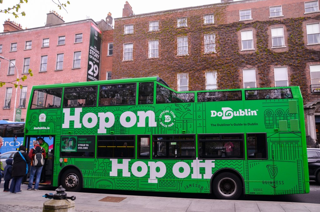 Dublin hop on hop off
