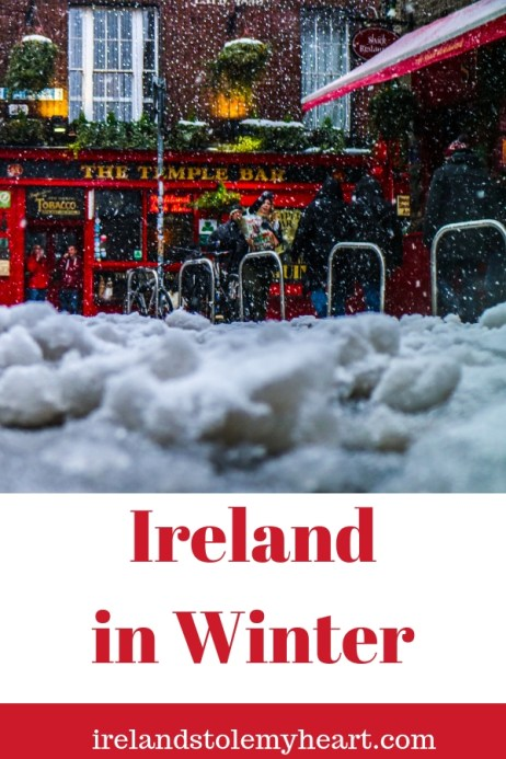 Considering Ireland in Winter? Here's why it's actually a good idea. #Ireland