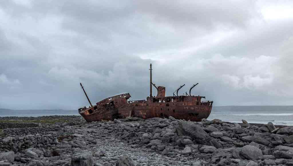 Shipwreck on Inisheer