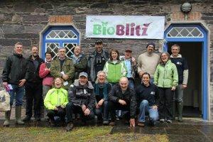 The Bioblitz Team at Glengarriff Woods Nature Reserve in 2012