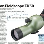 Nikon Fieldscope ED50 -- as reviewed in Bird Watching magazine