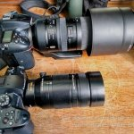 Lumix GH5 + 100-400mm alongside Nikon D7200+Tamron SP 150-600mm G2