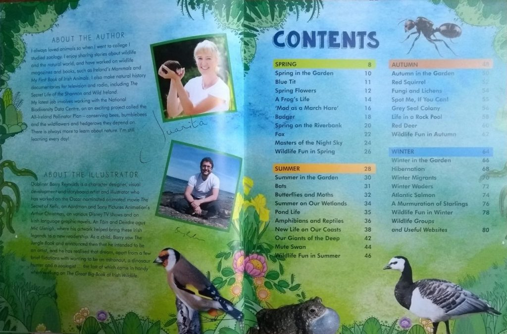 The Great Big Book of Irish Wildlife Through The Seasons by Juanita Browne 2