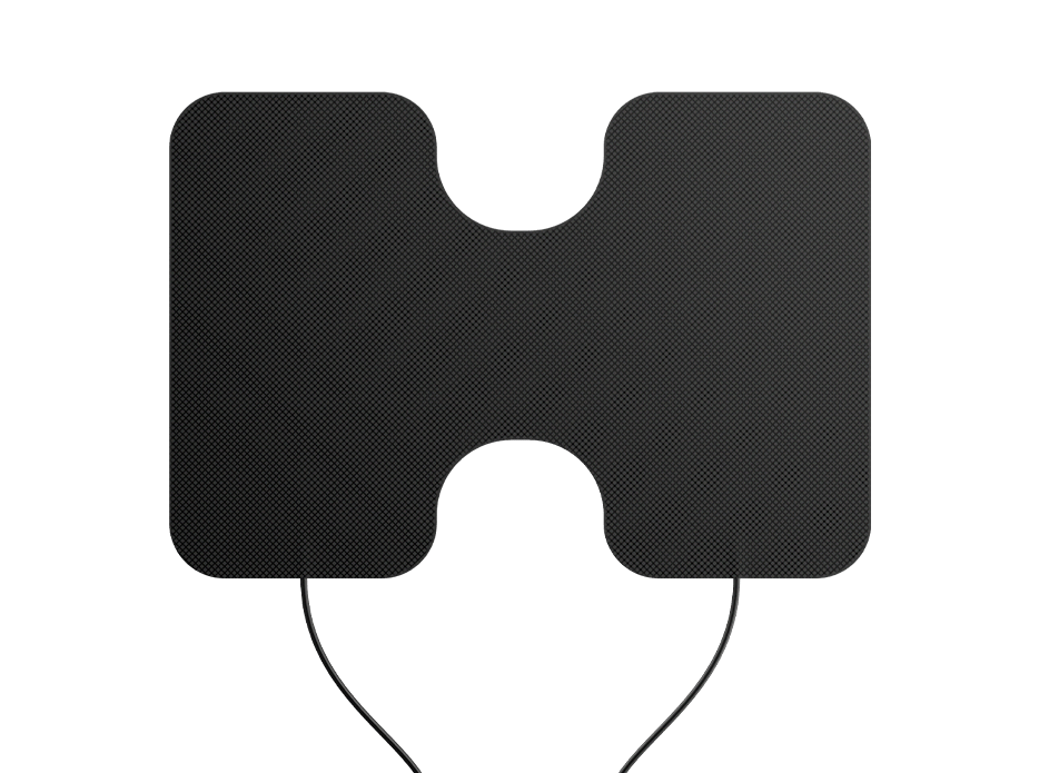 XL Electrode Pads for TENS Unit and EMS Therapy