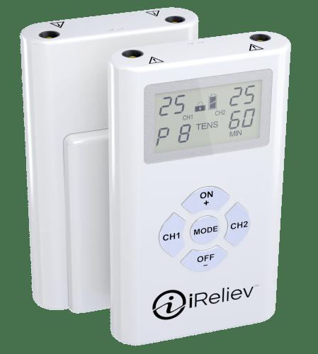 ET-1313 iReliev Pain Relief System TENS Unit Dual Channel