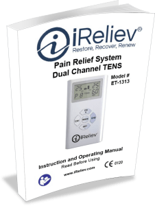 ET-1313 Dual Channel TENS Unit Operating Manual