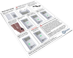 ET-1313 iReliev Dual Channel TENS Unit Quick Start Guide