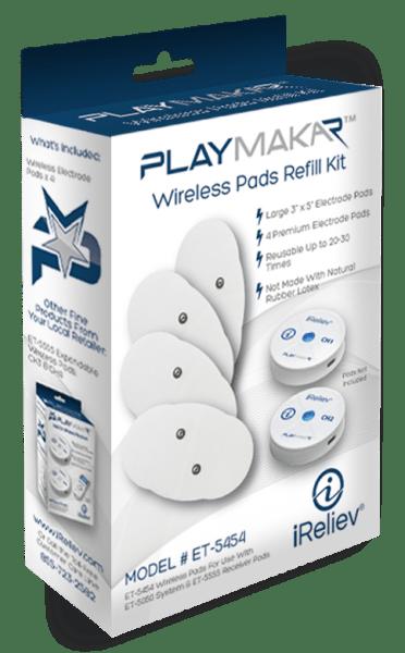 PlayMakar Wireless TENS EMS Electrode Pads