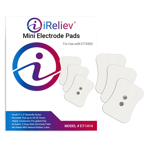 mini tens electrode pads refill pack ireliev tens unit electrode padsireliev mini patch pads
