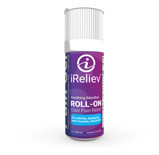 iReliev Pain Relief Roll-on Topical gel for acute pain