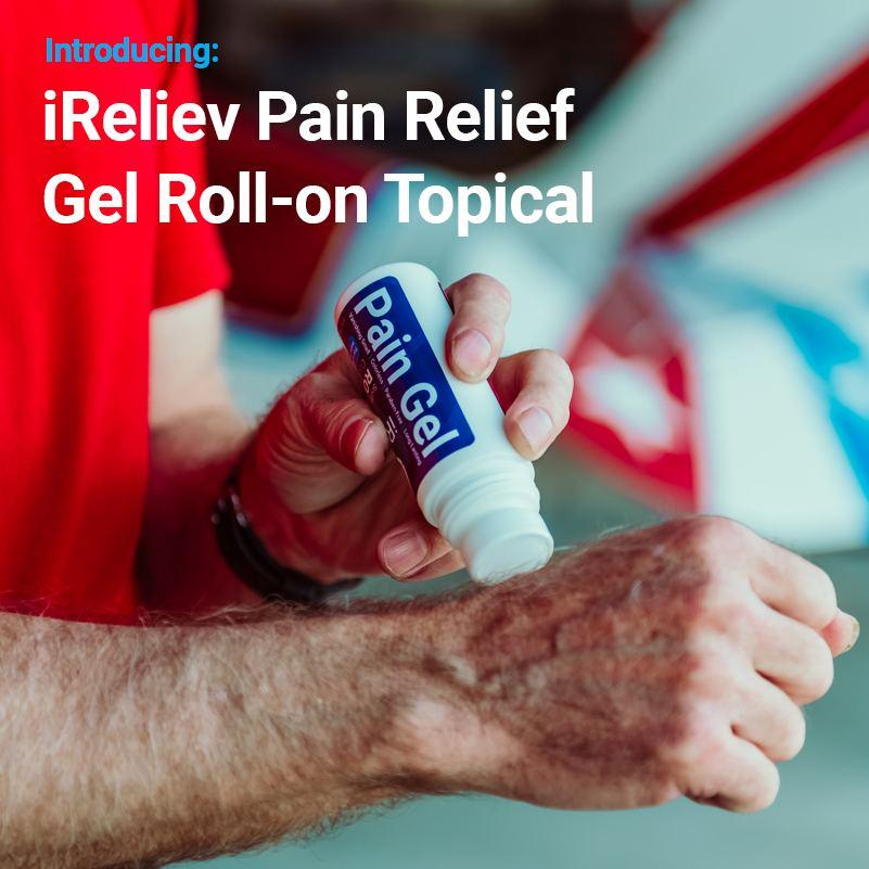 Introducing Pain Relief Gel