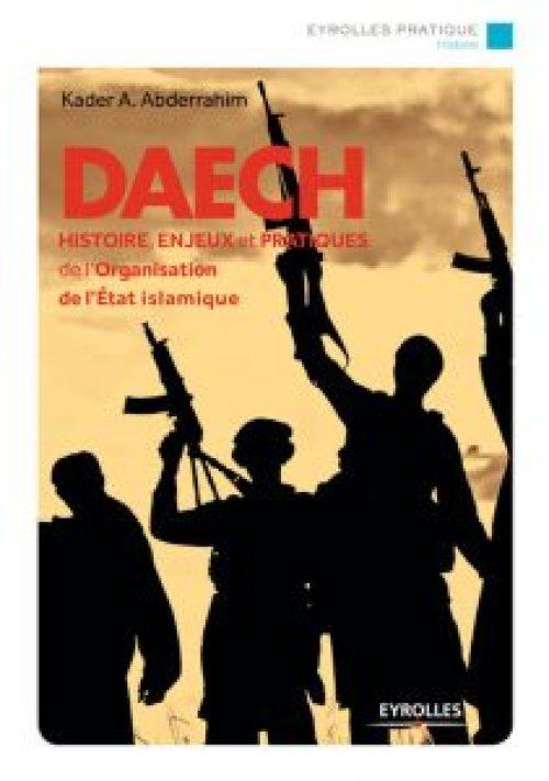 "Couv du livre ""Daech"" de Kader Abderrahim"