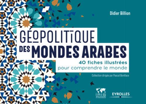 couv livre géopolitique des mondes arabes