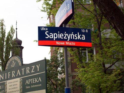 The street of Irena Sendler