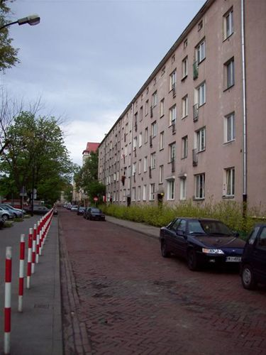 The street where Irena spent the last years of her life