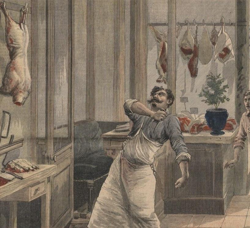 Le crime du boucher