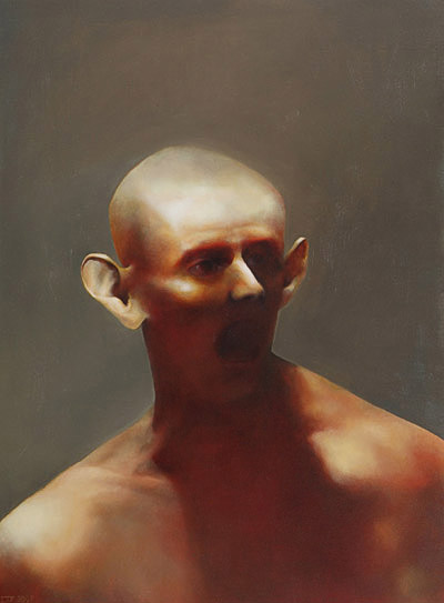 The Fly Catcher, 760mm x 555mm, oil on canvas, 2007