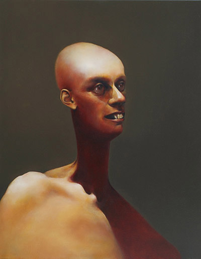The SIster, 910mm x 710mm, oil on canvas, 2007