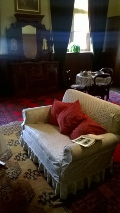 The housekeeper's room. If you're the housekeeper, you deserve a sit down, though it was at least once invaded by a black bear called Alice