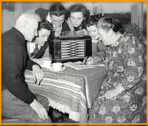 gather round the radio - gather-round-the-radio