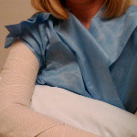 Irene arm injury Oy - Dragon Dictate voice recognition software on AlmostSavvy.com