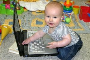 baby social media expert computer - baby social media expert computer
