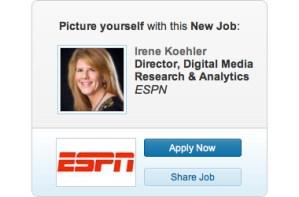 linkedin ad me - LinkedIn Ad Irene Koehler