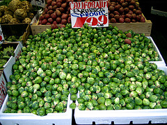 Brussel sprouts - Apple