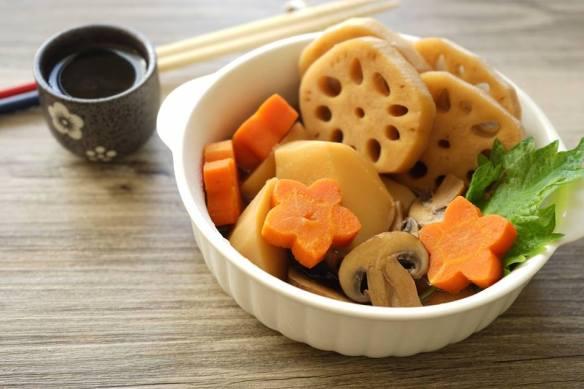 日式燉煮蔬菜