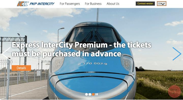 波蘭| 波蘭國鐵PKP 線上購票教學