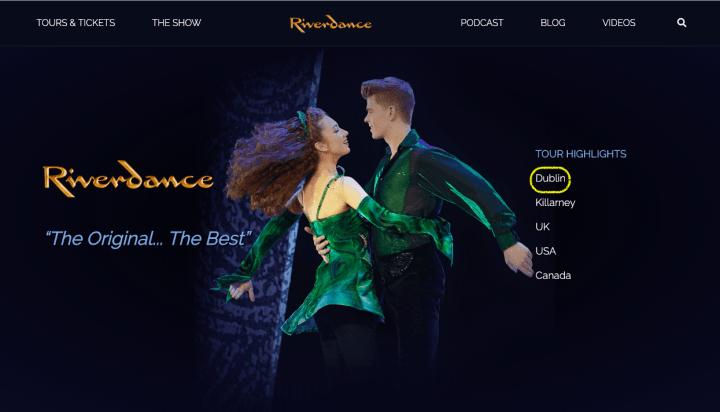愛爾蘭踢踏舞| 大河之舞 Ticketmaster線上購票選位教學