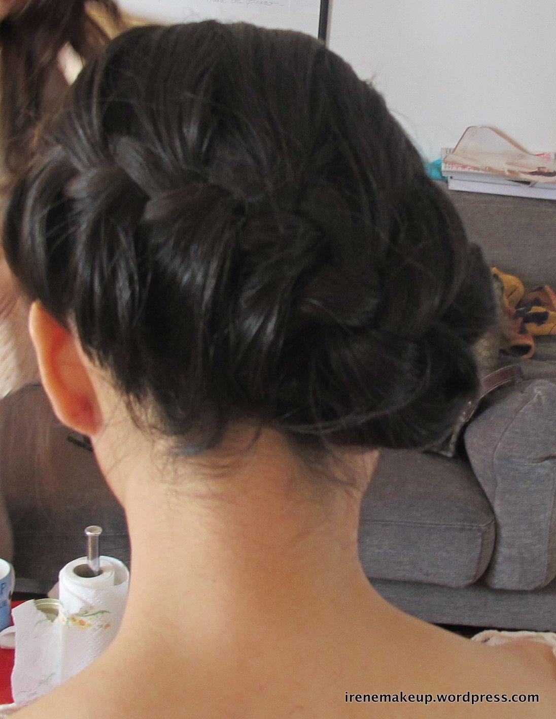 Chinese Bridal Hairstyles Classic Sleek Updo