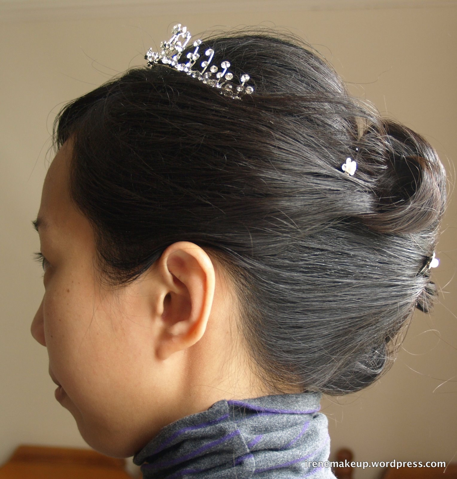 Chinese Bridal Hairstyles Classic Sleek updo   Chinese Makeup Artist  Asian Makeup