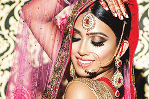 Covergirl: Indian Weddings Magazine