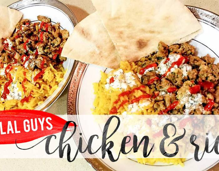NYC Style Chicken & Rice | The Halal Guys Inspired