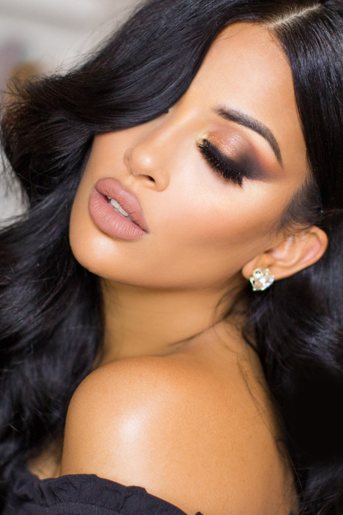 Flawless Bronze Makeup