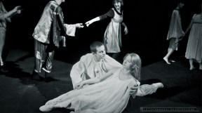 Teatr Pantomimy i Ruchu - SATORI _13-04-1986_Tychy_fot_Ireneusz Kazmierczak