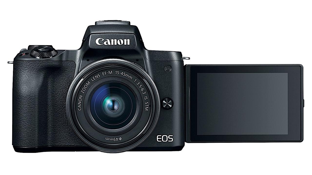 Canon EOS M50 with 15-45mm Lens Vlogging Camera - iRentMo