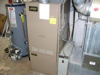 Furnace Forced Air Heating System. Forced Air With Furnace