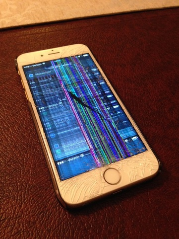 Nooo!!!! iPhone 6 Screen Cracked This Morning
