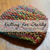 Knitting for Charity: 30 Hat Patterns | AllFreeKnitting.com