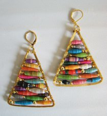 Anthropologie Knockoff Triangle Earrings