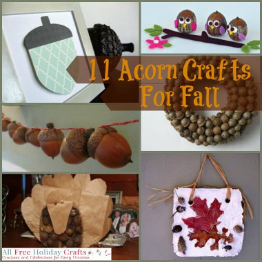 11 Acorn Crafts For Fall