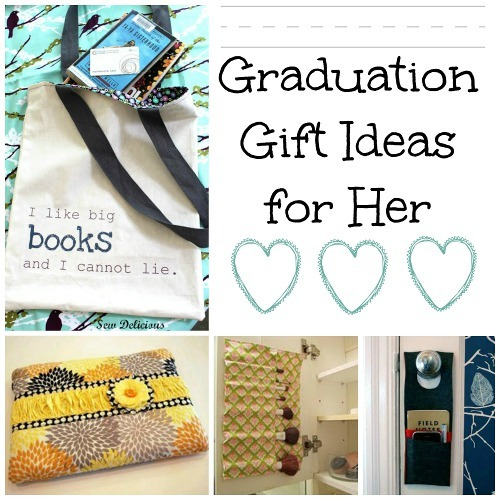 24 Graduation Gift Ideas For Her Allfreesewing