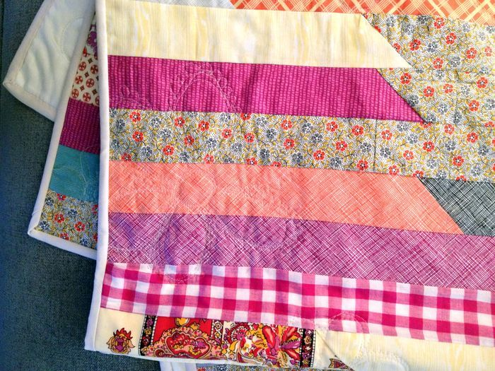 Race to the Finish Jelly Roll Quilt  FaveQuiltscom