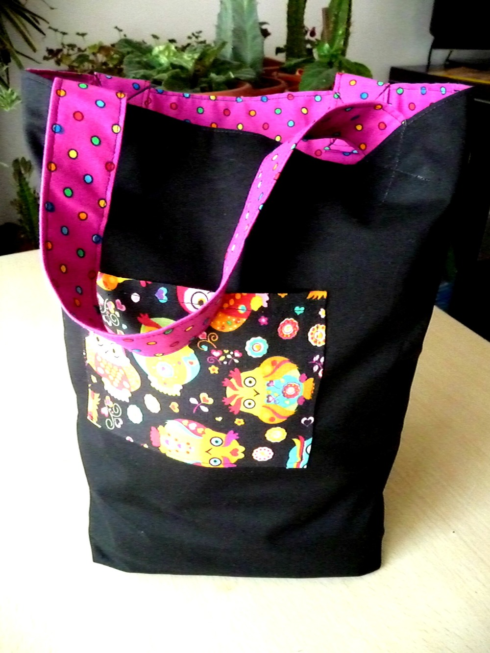 Lined Tote Bag Pattern